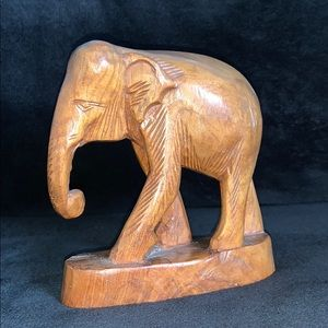 Accents - Handcrafted Teakwood Elephant